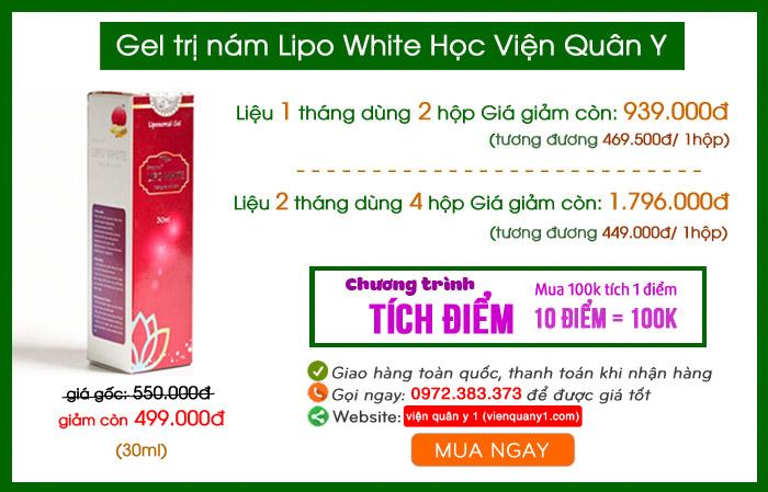 Cách sử dụng Lipo White